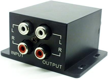 Universal Car Remote Amplifier Subwoofer Equalizer Crossover Bass Controller