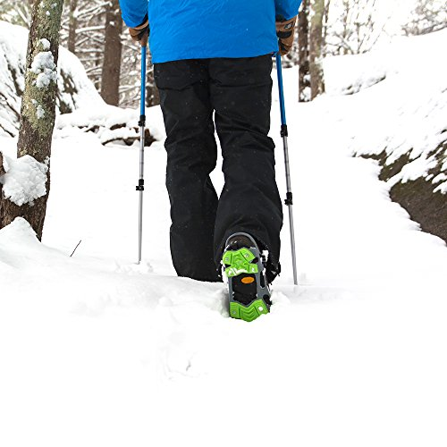 STABILicers HIKE XP, Made in USA, High Performance Snow and Ice Traction Cleats for Shoes and Boots, 25 Replacement Cleats Included, Gray/Green, Size XL by STABILicers (Image #1)