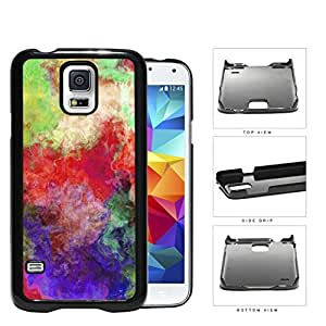 Colorful Abstract Art Painting Grunge Hard Snap on Phone Case Cover Samsung Galaxy S5 I9600