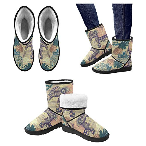 Snow Stivali Da Donna Di Interestprint Stivali Invernali Comfort Dal Design Unico 27