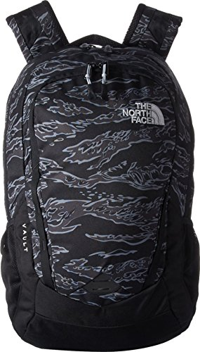 The North Face Unisex Vault Tnf Black Tiger Camo Print/High-Rise Grey One Size (Tigers Vault)