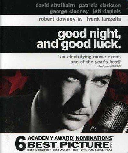 - Good Night and Good Luck [Blu-ray]