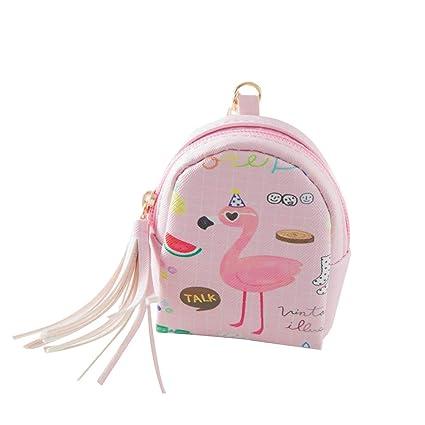 Flamingo - Monedero para mujer con cierre de cremallera ...