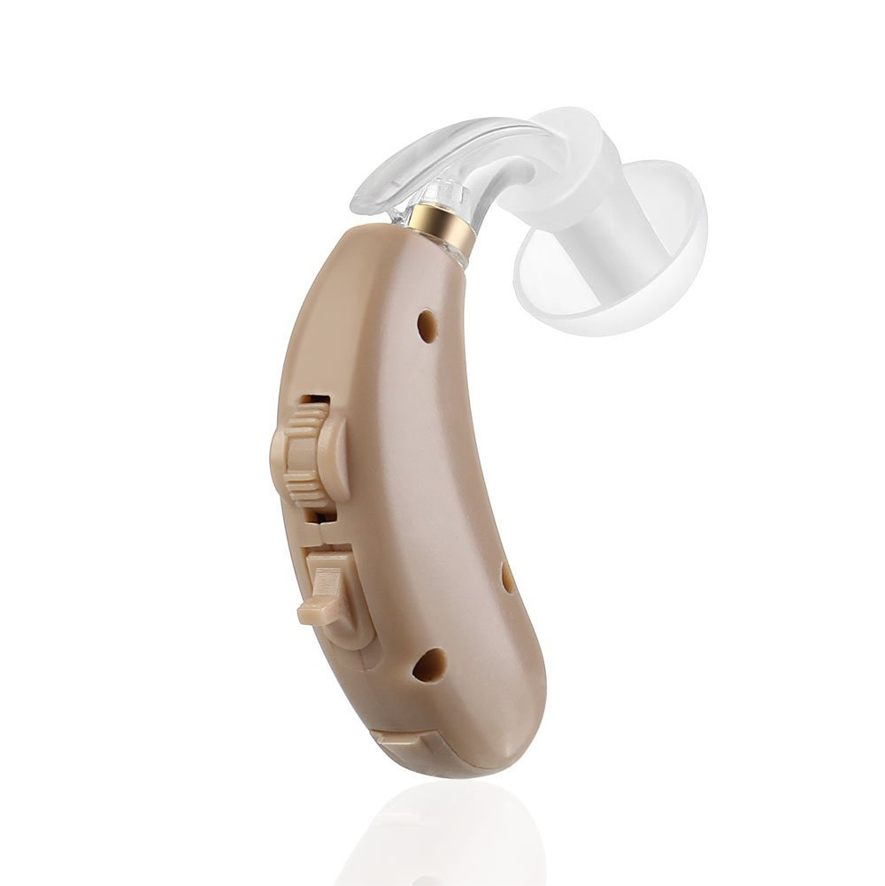 FDA Approved Personal Canal Sound Hearing Amplifier in Ear Digital Noise Cancellation and Feedback Reduction Aid Flexzion Digital Hearing Amplifier Device