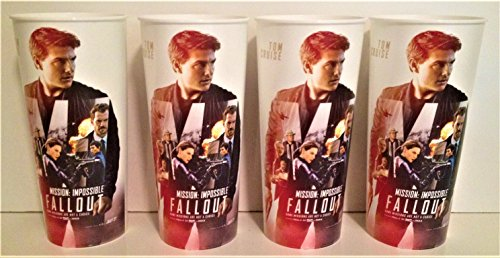 Mission Impossible: Fallout Movie Theater Exclusive Four 44 oz Plastic Cups #2