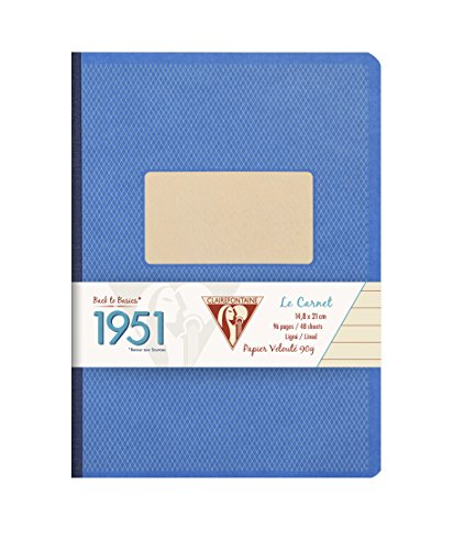 (Clairefontaine Clothbound Notebook (5 3/4 x 8 1/4,)