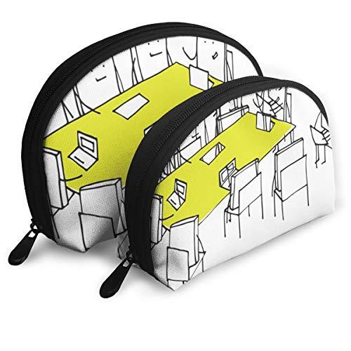 Eratdatd Customized Small Boards for Meetings Shell Portable Zipper Bag?2 Bags?, Suitable for Women Cosmetics, Handbags/Handbags, Women -