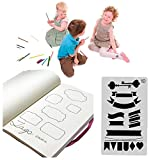 20 PCS Journal Stencil Plastic Planner Set for