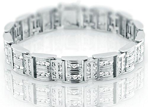 Sterling Bracelet Channel Set Princess Manufacturers