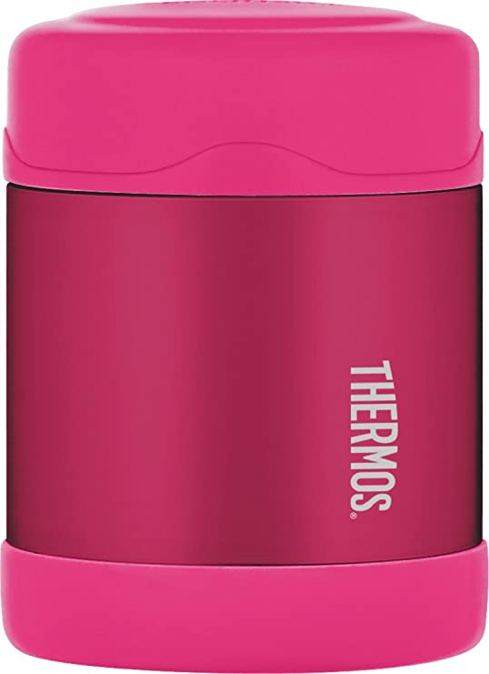THERMOS Foogo - Fiambrera de Acero Inoxidable (290 ml), Color Rosa ...