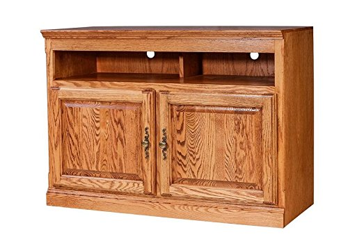 Height Oak (Forest Designs Traditional Oak TV Stand, 18
