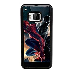 Generic hard plastic Spider-Man Cell Phone Case for HTC One M9 Black ABC8354601