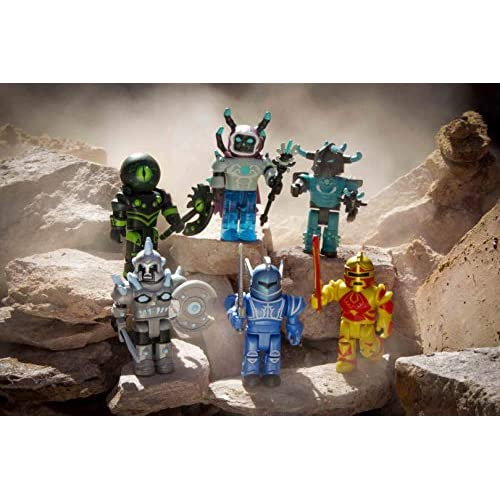Roblox Champions Of Roblox Six Figure Pack - po roblox summoner tycoon 6 pack toys games bricks