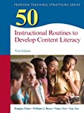 img - for 50 Instructional Routines to Develop Content Literacy (3rd Edition) (Teaching Strategies Series) book / textbook / text book