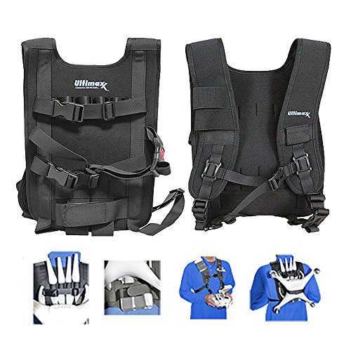 Ultimaxx Easy Carry Vest Shoulder Strap For Drones Studio Series - Compatible with DJI Inspire and Phantom Series Quadcopters