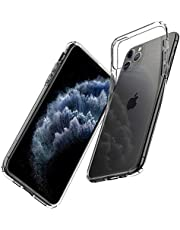 Spigen 075CS27129 Liquid Crystal Designed for Apple iPhone 11 Pro Max Case (2019), Crystal Clear