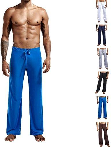 Snaked Cat Pantalones Deportivos Sueltos Para Hombre Con Cuerda Elastica En La Cintura Pijama De Seda Suave De Hielo Amazon Es Ropa Y Accesorios