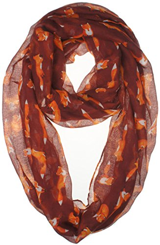 vivian-vincent-soft-light-cartoon-fox-sheer-infinity-scarf-brown