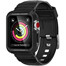 Spigen Rugged Armor Pro Designed for Apple Watch Band with Case for 42mm Series 3/Series 2/1/Original (2015) - Black