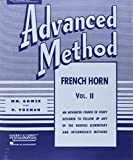 learning french advanced - Rubank Advanced Method - French Horn in F or E-flat, Vol. 2