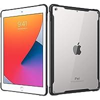 MoKo Case Fit New iPad 10.2 2020/2019, Anti-Scratch Transparent Hard PC Back and Shock Absorption Flexible TPU Soft Edge…