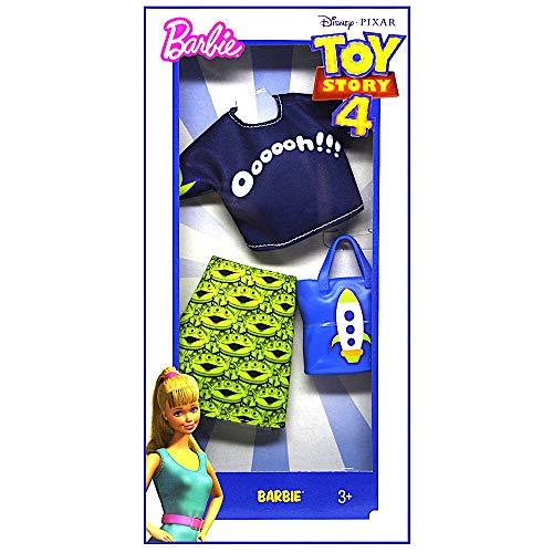 Barbie Toy Story 4 Doll Clothes Aliens Ensamble -