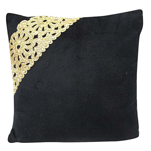 indian decorative cushion velvet pillow cover bohemian pillow cover 16 x 16 buy online in. Black Bedroom Furniture Sets. Home Design Ideas