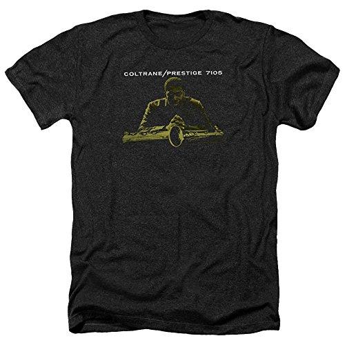 John Coltrane Mellow Yellow Unisex Adult Heather T Shirt for Men and Women, X-Large ()