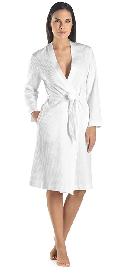 MIRKO Waffle Weave Bathrobe - Luxury Hotel Spa Collection b66c228aa