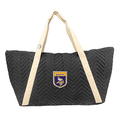 NFL Minnesota Vikings Chev-Stitch Weekender by Littlearth
