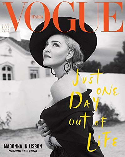 August 2018 - Vogue Italy Magazine - Madonna issue