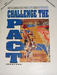 Paperback Challenge the Pact: South Carolina Pact for Eighth Grade Mathematics Book