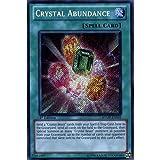 yu gi oh crystal - Yu-Gi-Oh! - Crystal Abundance Secret Rare - RYMP-EN051 1st Ed Ra Yellow Mega Pack