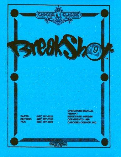 Breakshot Pinball Service & Repair (Capcom Pinball)