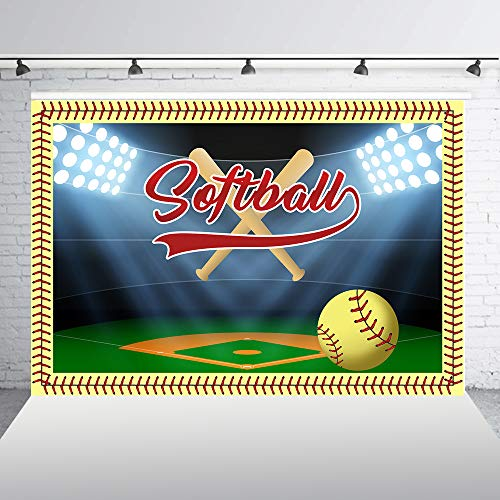 HUAYI 7x5ft softball photo backdrop indoor sports themed softball backstop padding hanging hitting cameras photography background for Kids Boy Portrait Batter Catcher Pitcher photo studio props w-2084