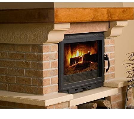 Stegu Panel Fireplace Insert Fireplace Conversion Clinker Bricks