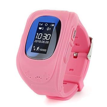 Yuanbbo Q50 Reloj Inteligente Pantalla Táctil Muñeca Inteligente ...
