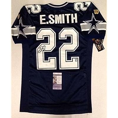 premium selection c6237 fb4b0 Emmitt Smith Signed Jersey - REEBOK - JSA Certified ...