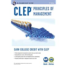CLEP® Principles of Management Book + Online