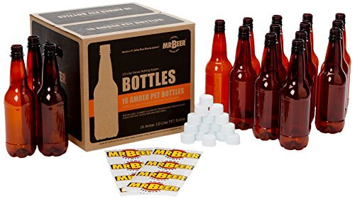 Deluxe Bottling System - Mr. Beer Deluxe Beer Bottling System, 0.5-Liter by Mr. Beer