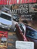 2002 Mazda Protege / Subaru Impreza WRX Wagon / Toyota Matrix / BMW 745i / Road Test