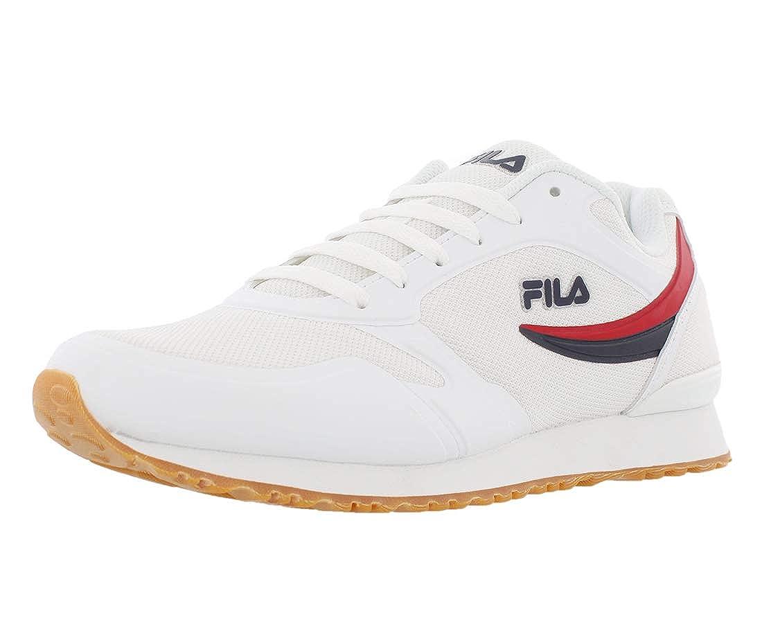 Forerunner 18 Sneaker, White/Navy/Red