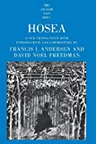 Hosea (The Anchor Yale Bible Commentaries)