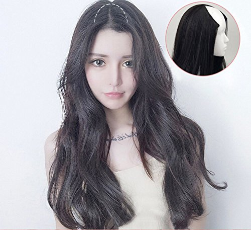 Amazon Seamless Micro Hair Wig Korean Hair Piece Big Wave Of