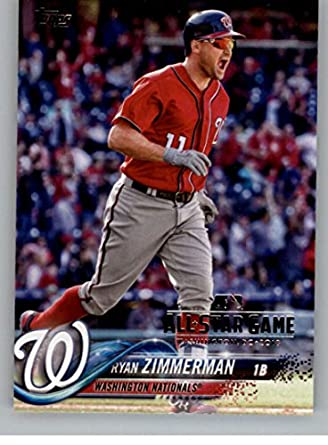 836ea0269f8 2018 Topps All-Star Edition  58 Ryan Zimmerman Washington Nationals