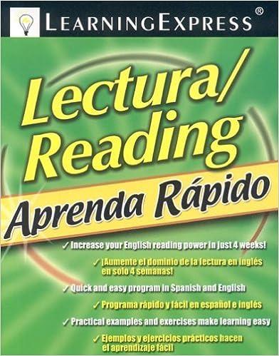Aprenda Rapido: Lectura/Reading (Learning Express Aprenda Rapido) by LearningExpress Editors (2008-10-15)