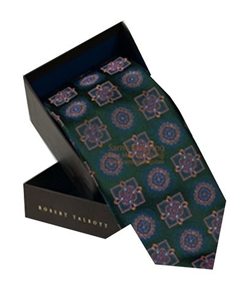 Robert Talbott Diamond and Floral Best of Class Tie