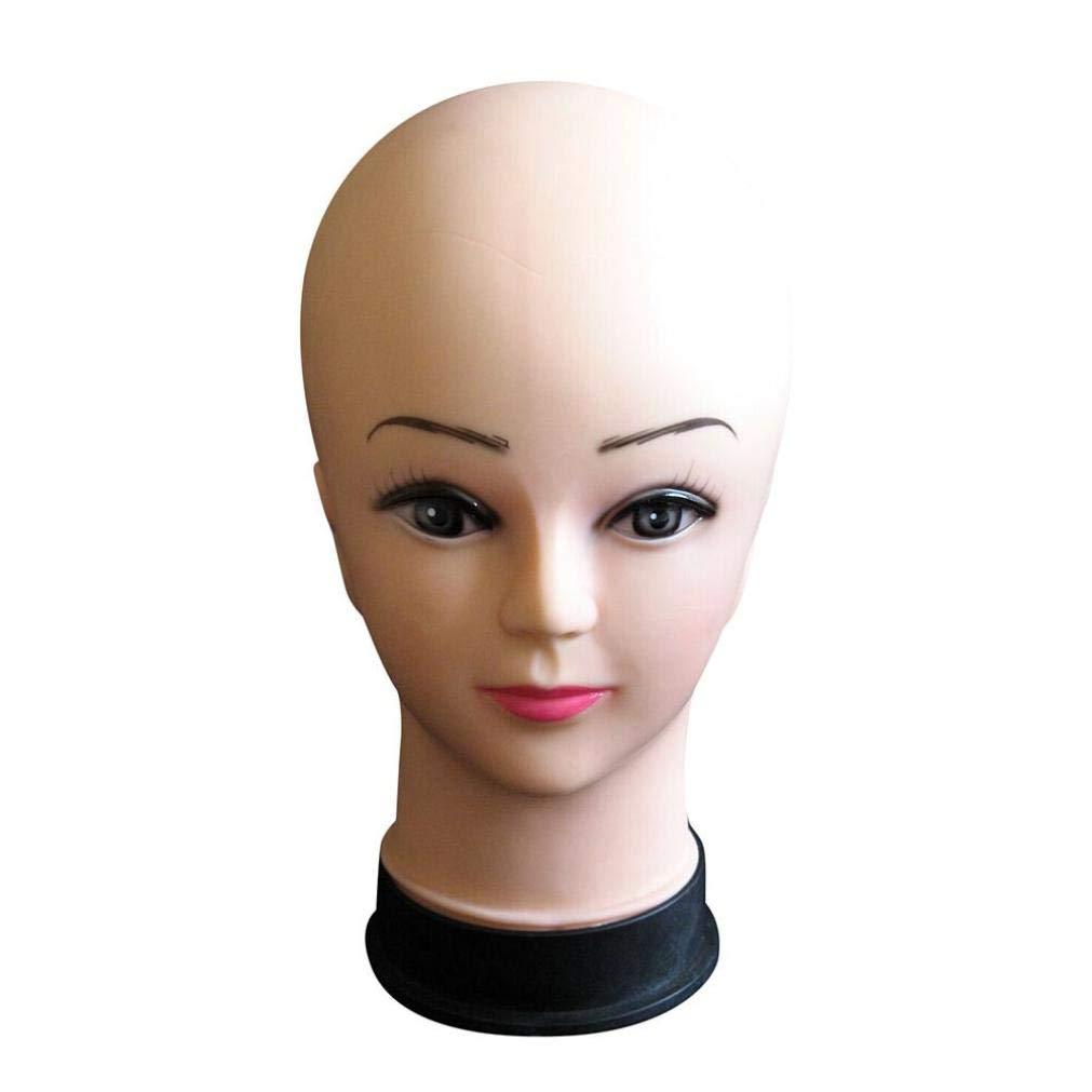 Chapeau De TêTe Mannequin Femme D'Affichage Perruque Torso PVC Formation ModèLe De TêTe ModèLe De TêTe Mannequin TêTe Styromousse Support Pour Perruque Chapeau Beauty Top