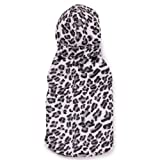 Zack and Zoey Polyester Snow Leopard Vest, XX-Small, White, My Pet Supplies