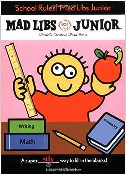 School Rules Mad Libs Junior Leonard Stern